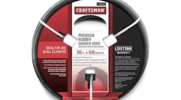 Craftsman Premium Rubber Garden Hose